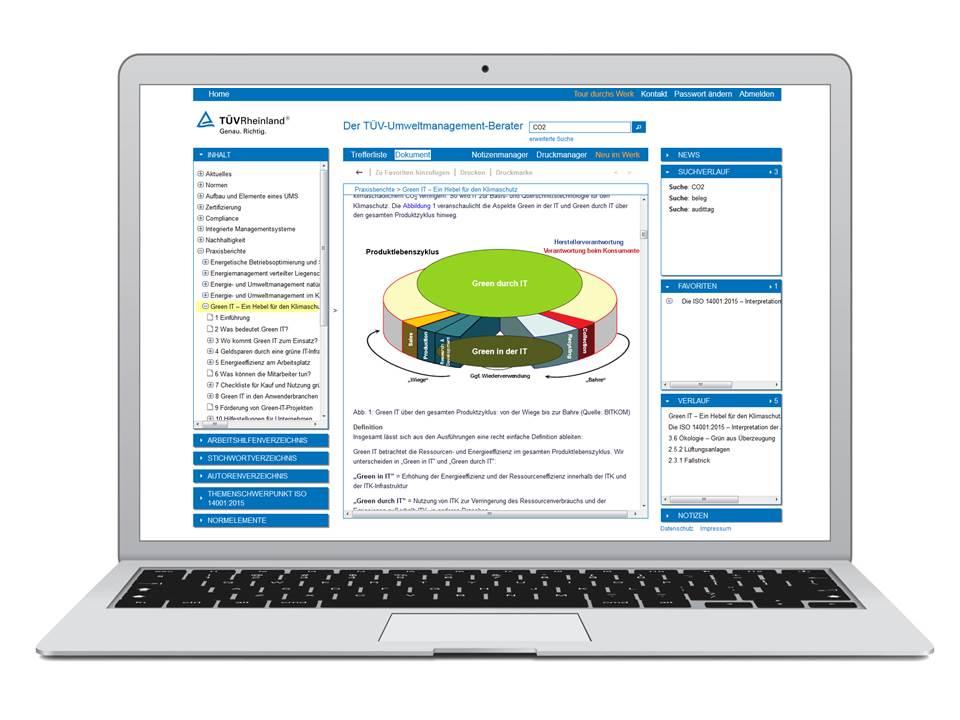 Der TÜV Umweltmanagement-Beauftragte digital